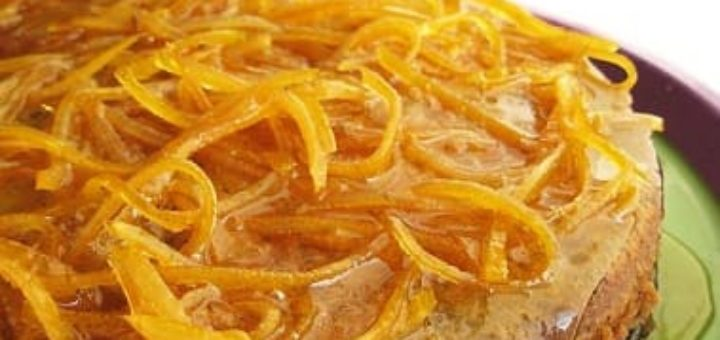 Французский апельсиновый кекс с маком