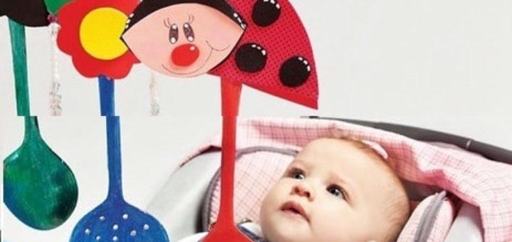 Как сделать яркие игрушки для малыша