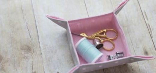 Как сшить вазочку из ткани