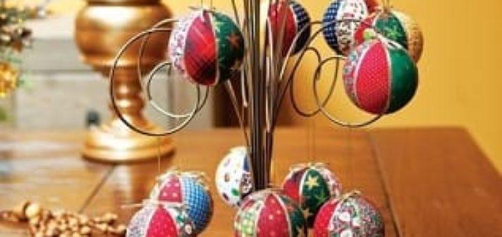 Новогодние шары своими руками. Кинусайга