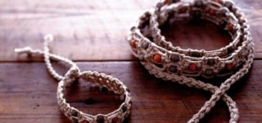 Плетение украшений в технике МАКРАМЕ