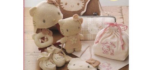 Шитье и игрушки амигуруми крючком. Журнал со схемами