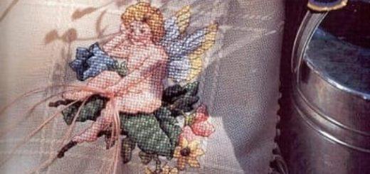 Примеры красивой винтажной вышивки. Журнал