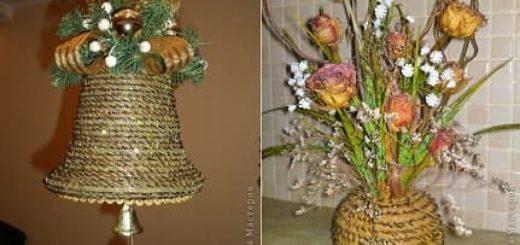 Плетение из сосновых иголок от Мамитка. КОЛОКОЛЬЧИКИ