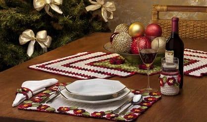 Праздничный комплект для сервировки стола