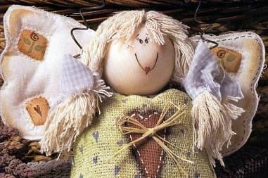 Шьем Рождественских ангелов. Подборка с выкройками