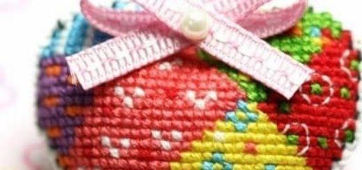 Схемы вышивки для валентинок