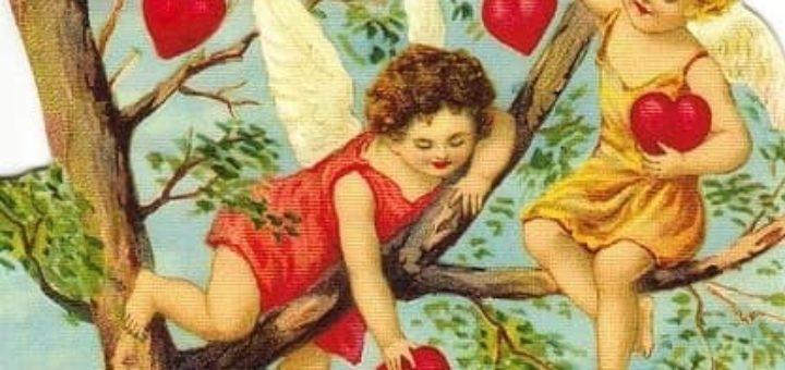 Винтажные картинки ко дню Святого Валентина