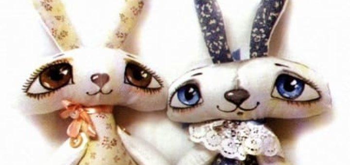 Замечательные пасхальные зайцы. Шьем сами