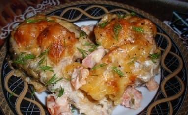 Рыба по-гречески. Вкуснейший рецепт