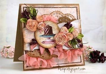 Бумагопластика. Цветы для открыток ручной работы