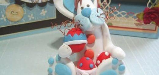 Как слепить кролика из полимерной глины
