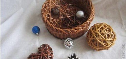 Плетение из газет. Декоративный шар и звездочка