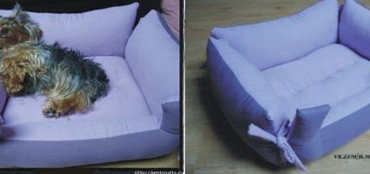 Шьем кроватку для питомца
