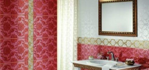 Элитная плитка для ванной от компании Johnson-Tiles