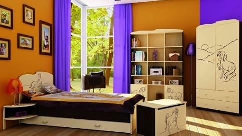 Мебель и гарнитуры для детей от польской фабрики Meblik
