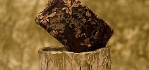 Папье-маше. Браслеты, декорированные тканью
