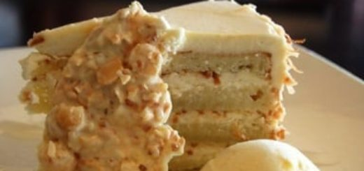 Торт РАФАЭЛЛО с белым шоколадом