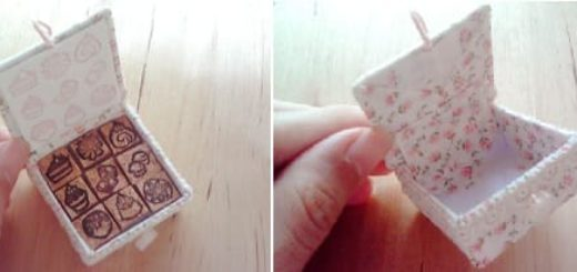 Коробочка из картона своими руками