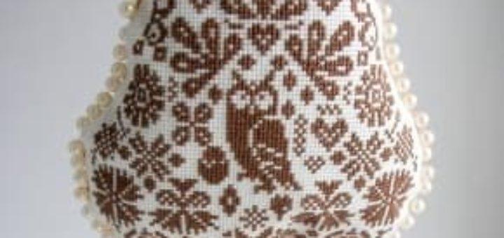 Схемы вышивки крестом. СОВЫ