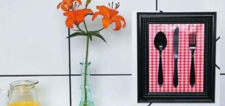 Креативное панно для кухни