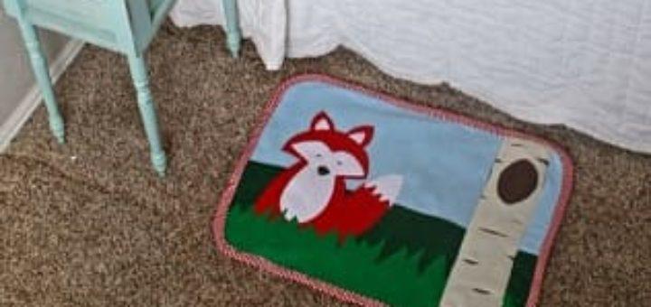 Как сшить развивающий детский коврик