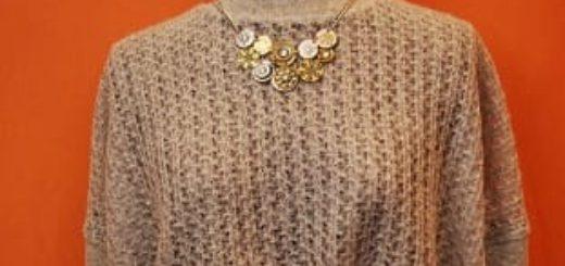 Модная переделка старого свитера