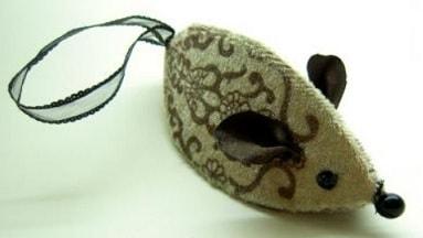 Мышки из картона