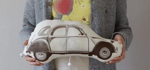 Шьем машинку в подарок маленькому автолюбителю