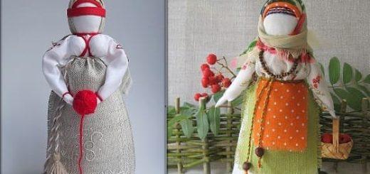 Шьем сами народную традиционную куклу. Мастер-класс