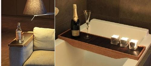 Удобный поднос для ванной или кресла. Мастер-класс