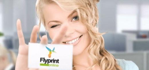 Печать визиток от сервиса онлайн полиграфии FlyPrint
