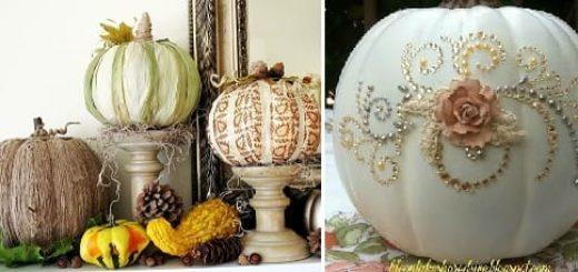 ТЫКВЫ к Хэллоуину. Идеи осеннего декора