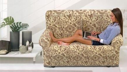 Как украсить мебель с помощью самодельных чехлов