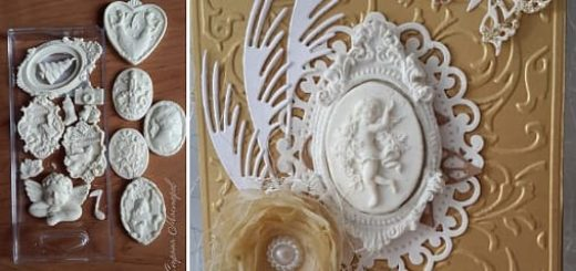 Молды, камеи и фигурки для скрапбукинга своими руками