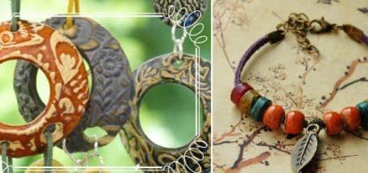 Учимся делать керамические украшения