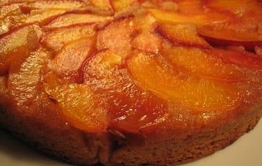 Имбирный торт с нектаринами. Рецепт