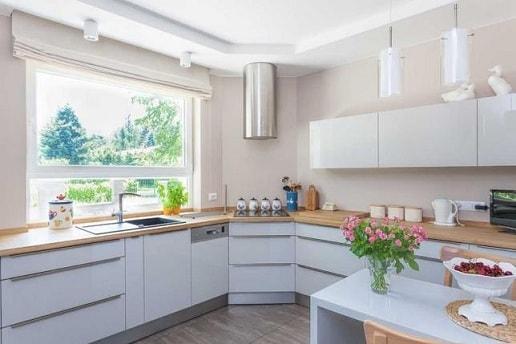 Как обустроить кухню в доме своими руками