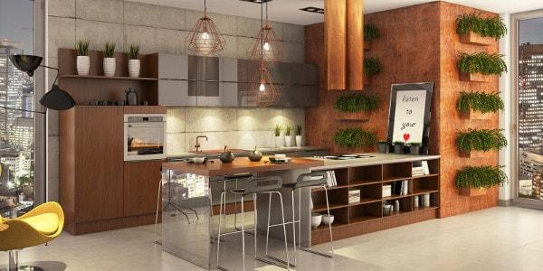 Как обустроить кухню в доме своими руками (1)