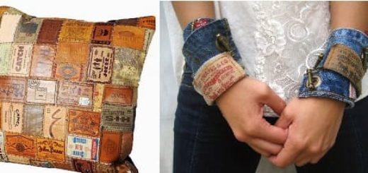 Стильное применение лейблов от джинсов