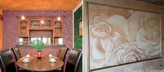 Три способа отделки стен дома - декоративная штукатурка
