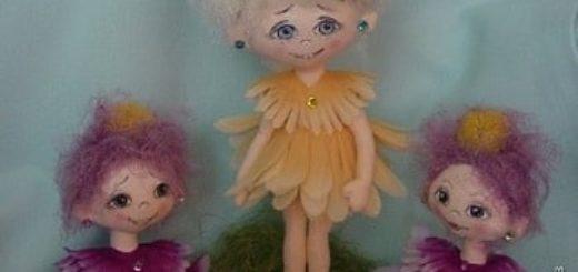 Куколки ЦВЕТОЧКИ. Шьем сами - мастер-класс