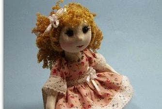 Как сшить текстильную каркасную куклу на проволочном каркасе