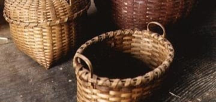 Плетение корзин из ДРАНОК