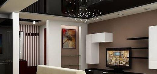 7 правил темного потолка в интерьере