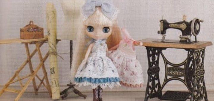 Шьем одежду для кукол. Японский журнал