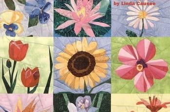 Цветочный квилт. Лоскутные блоки