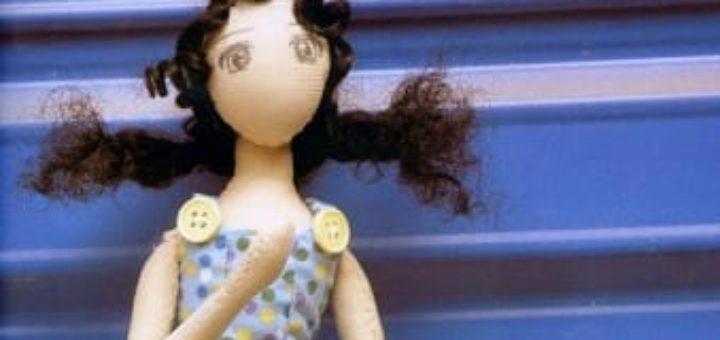 Как сшить сарафан для куклы тильды
