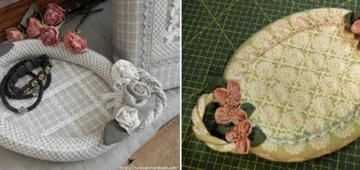 Шьем сами текстильную корзинку