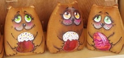 Кофейные котики. Шьем ароматизированную игрушку